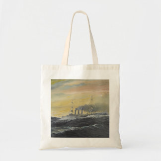 Emden rides the waves Indian Ocean 1914 2011 Budget Tote Bag