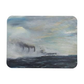 Emden 'The Swan of the East' 1914 2011 Magnet