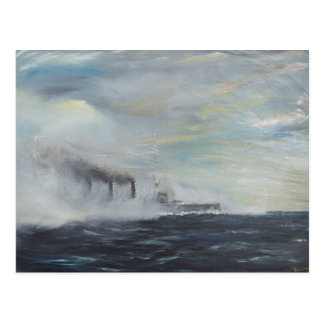Emden 'The Swan of the East' 1914 2011 Postcard