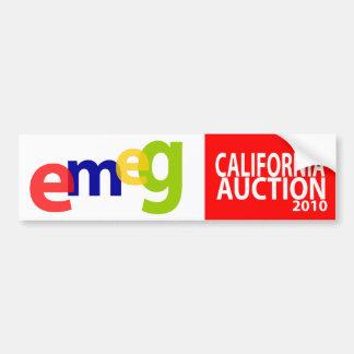 eMeg Bumper Sticker Car Bumper Sticker