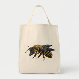 emek_bee_single tote bag