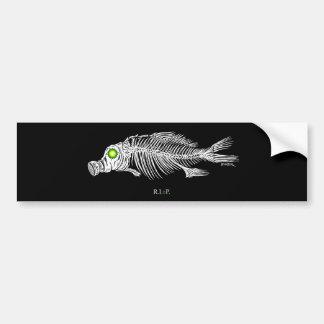 emek_bp_fish_gasmask_sticker etiqueta de parachoque