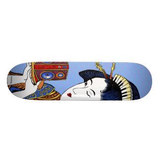"Emek ""Japanese Music Lady"" Skateboard Deck"