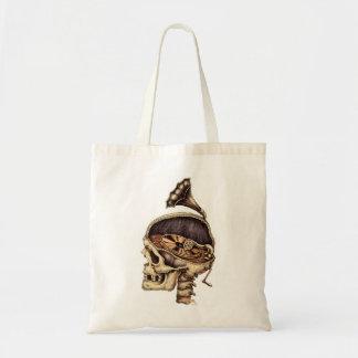 emek_phonoskull_zazzle tote bag