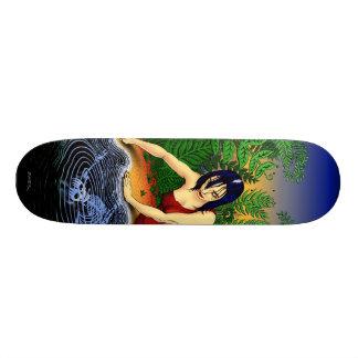 "Emek ""Reflection"" Skateboard Deck"