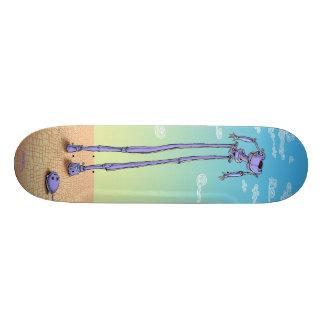 "Emek ""Robot"" Skateboard Deck"