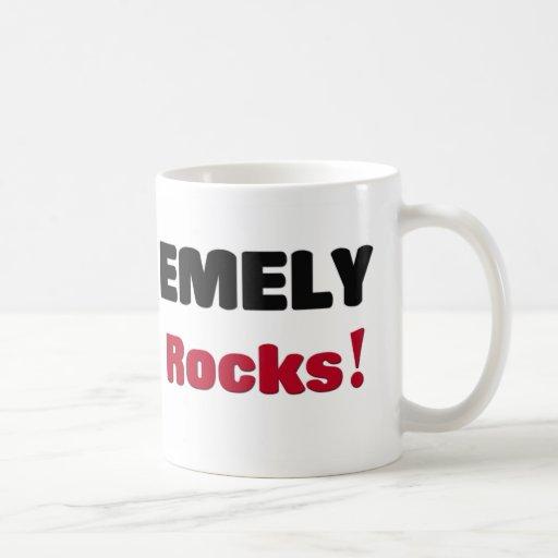 Emely Rocks Classic White Coffee Mug