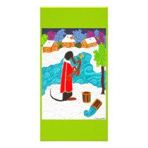 Emelya & the Magic Pike Card