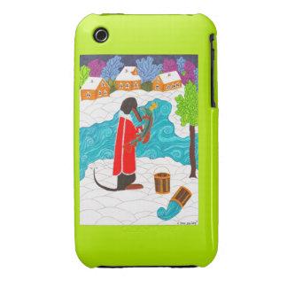 Emelya y el Pike mágico Funda Bareyly There Para iPhone 3 De Case-Mate