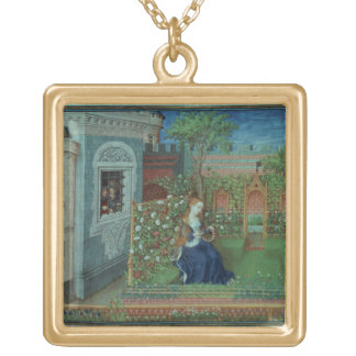 Emelye in her garden. The imprisoned knights Palam Gold Plated Necklace