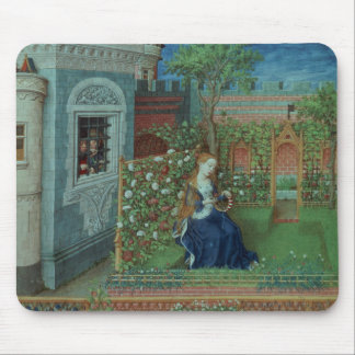 Emelye in her garden. The imprisoned knights Palam Mouse Pad