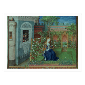 Emelye in her garden. The imprisoned knights Palam Post Cards
