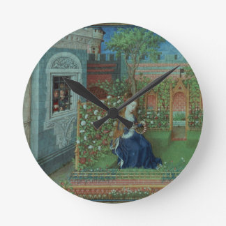 Emelye in her garden. The imprisoned knights Palam Round Clock