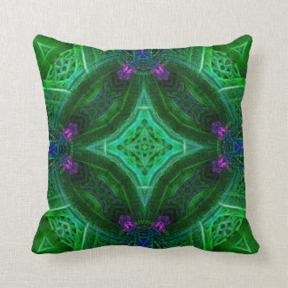 Emerald Amethyst Dome Pillow