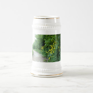 Emerald and Gold Beer Stein