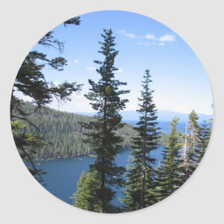 Emerald Bay Classic Round Sticker