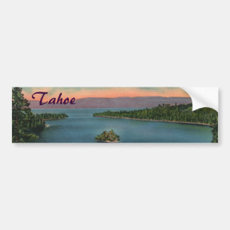 Emerald Bay - Lake Tahoe Bumper Sticker