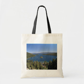 Emerald Bay, Lake Tahoe, California, USA Budget Tote Bag