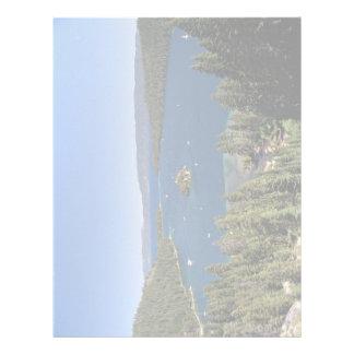Emerald Bay, Lake Tahoe, California, USA Letterhead