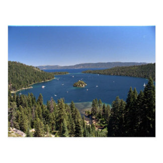 Emerald Bay, Lake Tahoe, California, USA Post Card