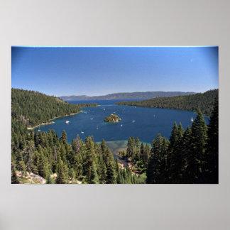 Emerald Bay, Lake Tahoe, California, USA Poster