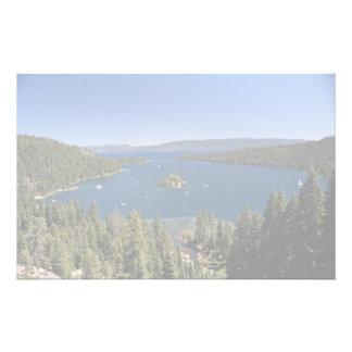 Emerald Bay, Lake Tahoe, California, USA Stationery Paper