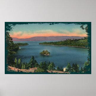 Emerald Bay - Lake Tahoe Canvas Print