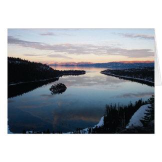 Emerald Bay, Lake Tahoe Card