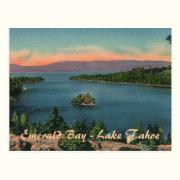 Emerald Bay - Lake Tahoe Postcard