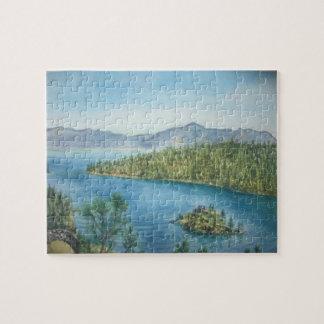 Emerald Bay lake Tahoe Puzzle