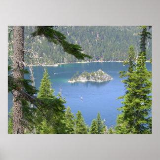 Emerald Bay South Lake Tahoe POSTER