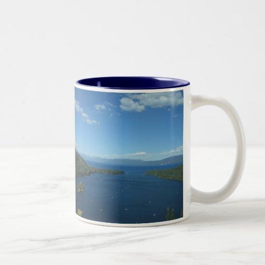 Emerald Bay Two-Tone Coffee Mug
