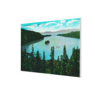 Emerald Bay View on Lake TahoeLake Tahoe, CA Canvas Print