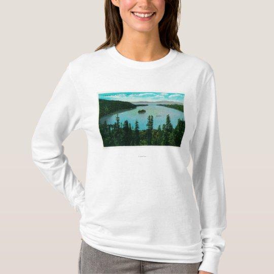 Emerald Bay View on Lake TahoeLake Tahoe, CA T-Shirt