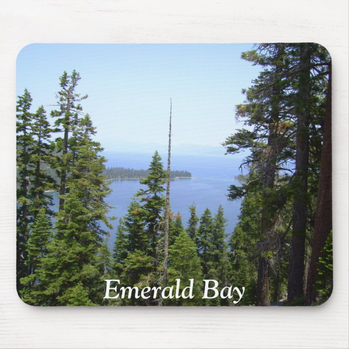 Emerald Bay Vikingsholm Castle Collection Mouse Pa Mouse Pad