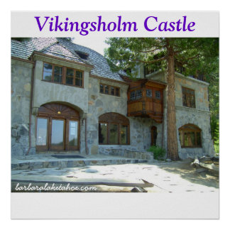 Emerald Bay Vikingsholm Castle Collection POSTER