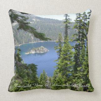 Emerald Bay Vikingsholm Castle Pillow *Great Gift