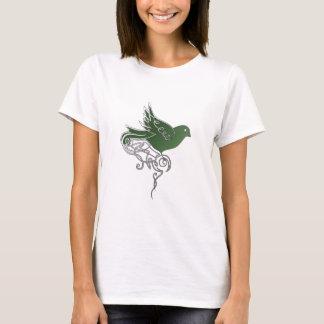 Emerald bird t-shirt