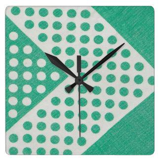 Emerald City Rockabilly Wall Clock