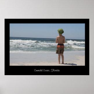 Emerald Coast Florida Poster Print