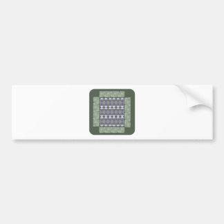 EMERALD Crystal Stones GRANDcard GROUPcard NVN493 Bumper Sticker