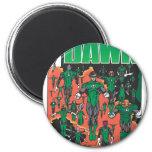 Emerald Dawn Cover 2 Inch Round Magnet