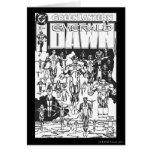 Emerald Dawn Cover, Black and White Card