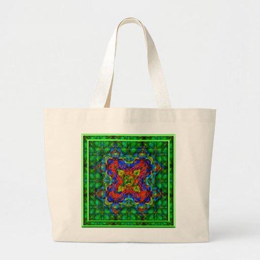 Emerald Depths Canvas Bag