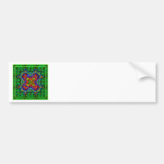 Emerald Depths Bumper Sticker
