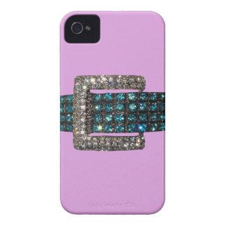 Emerald Diamond Bracelet iPhone 4 Case Pale Plum