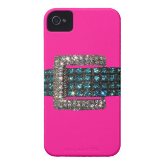 Emerald Diamond Bracelet iPhone 4 Case Pink