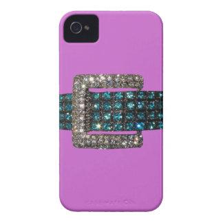 Emerald Diamond Bracelet iPhone 4 Case Purple