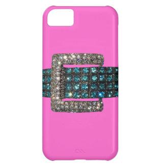 Emerald Diamond Bracelet iPhone 5 Case Pink