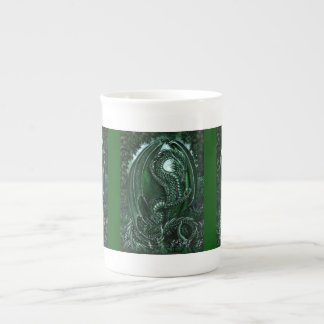 Emerald Dragon Bone China Mug